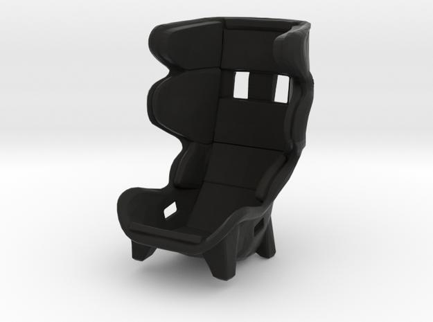Race Seat PType 1 -1/10 in Black Strong & Flexible