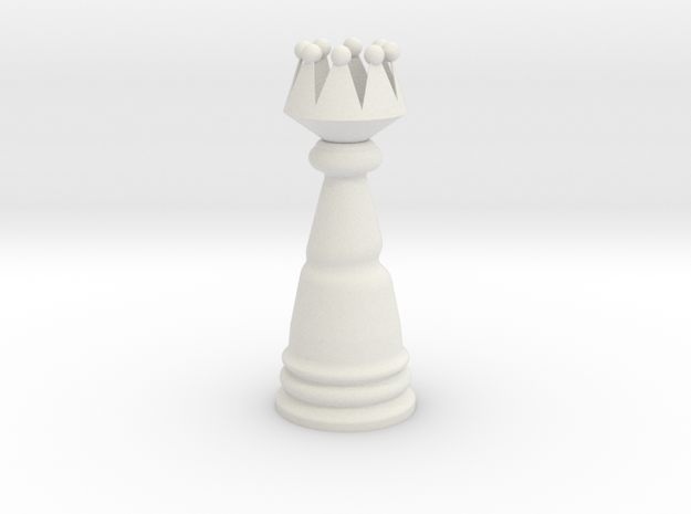 Fantasy Wind Chess - Queen in White Strong & Flexible