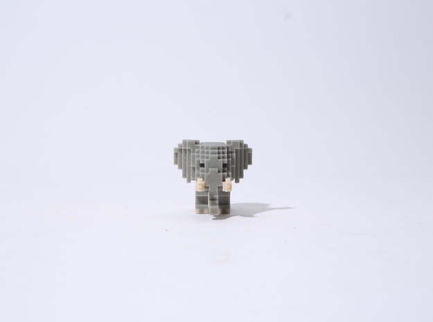 Pop Elephant in Full Color Sandstone