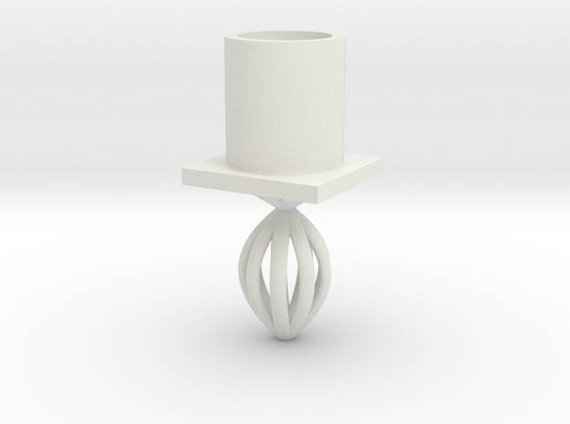 model cup in White Natural Versatile Plastic