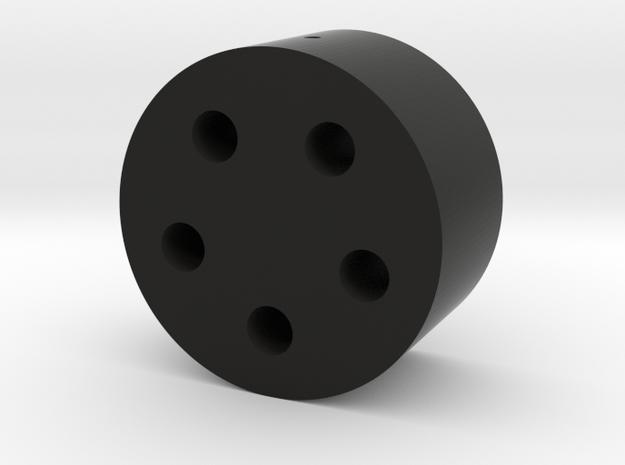 Grenade Launcher shell puck 15 in Black Natural Versatile Plastic