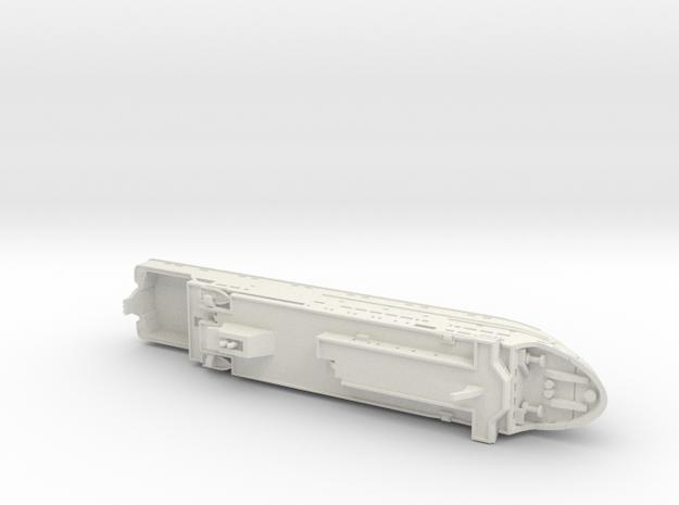 MV Hebrides (1:1200) 3d printed