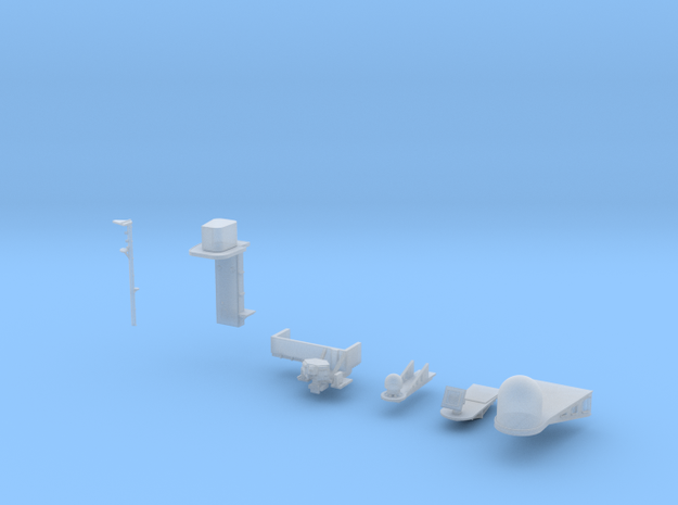 1:350 Scale Nimitz Class Electronics Platforms #2