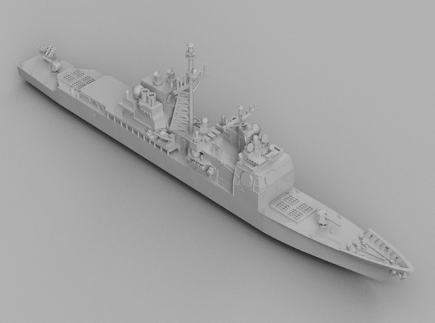 1/1800 USS Bunker Hill in Smooth Fine Detail Plastic