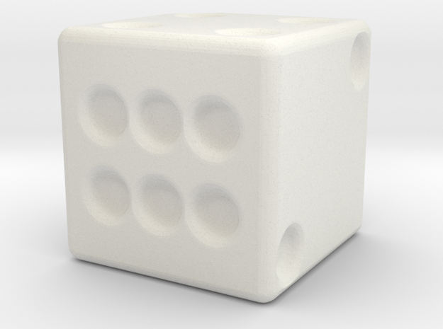 DICE in White Strong & Flexible