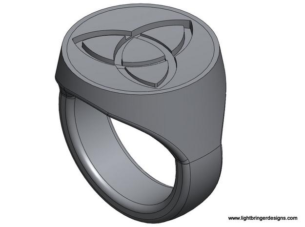Trinity Signet Ring