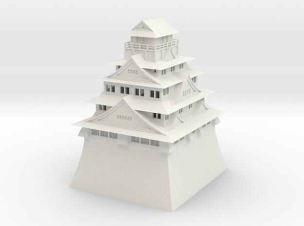 Osaka Castle in White Strong & Flexible