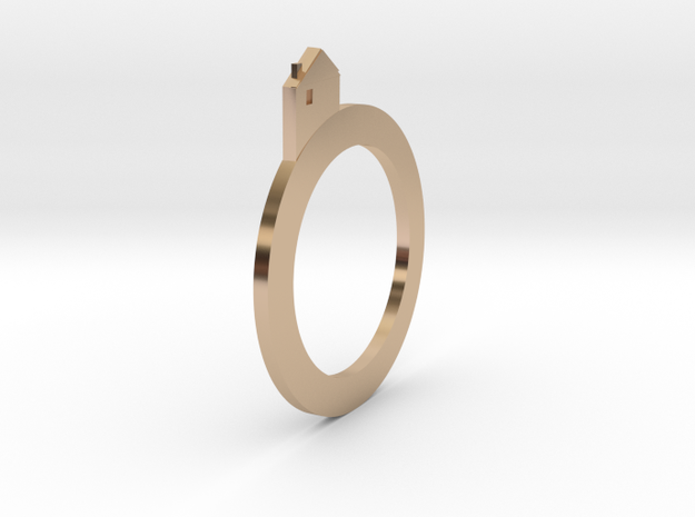 Village rings in 14k Rose Gold Plated