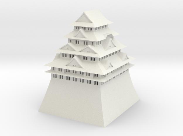 Nagoya Castle in White Strong & Flexible