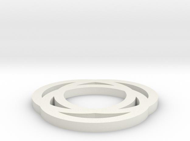 Circle in White Strong & Flexible: Medium