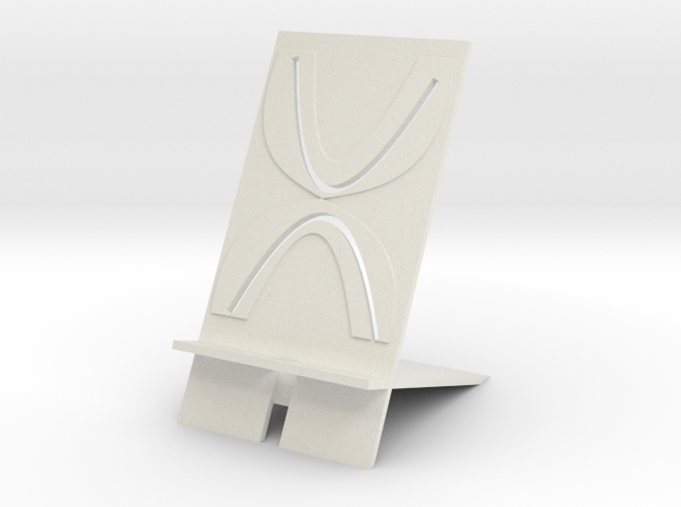 phone stand in White Natural Versatile Plastic