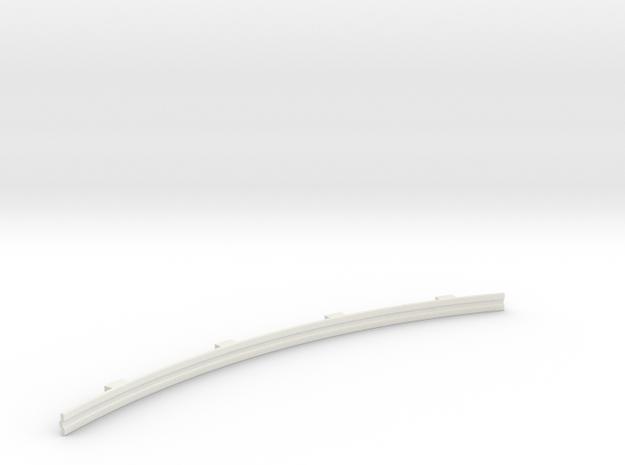 Für Anki Overdrive - Leitplanke Kurve Aussen V3 in White Strong & Flexible