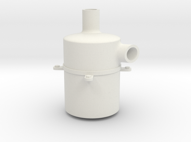 Muffler for SdKfz 251 in White Natural Versatile Plastic