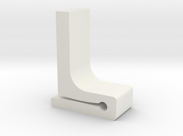 Für Anki Overdrive - Leitplanke Fuss V4 in White Strong & Flexible