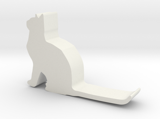 Cat hook 1 in White Strong & Flexible