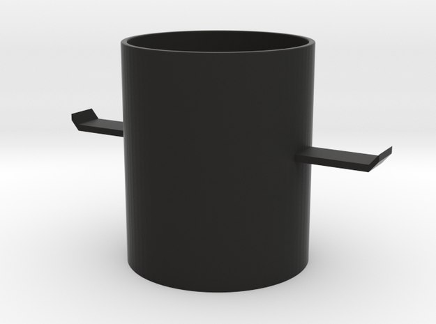 Airplane cup in Black Strong & Flexible