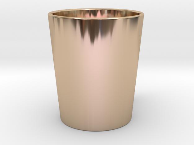 Mug in 14k Rose Gold Plated: Medium