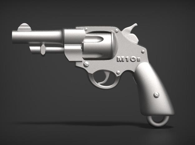Smith & Wesson M10 B in Frosted Ultra Detail