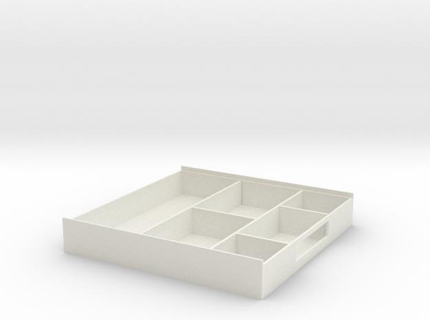 Storage Box in White Strong & Flexible: Medium