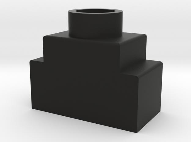 Swiss Arms Uzi - Speed Loader Adapter in Black Natural Versatile Plastic
