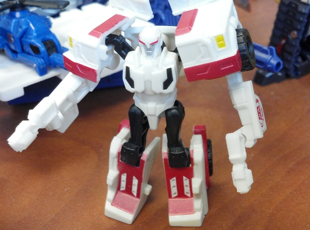 3mm Robots in Disguise Ratchet's Guns in White Strong & Flexible