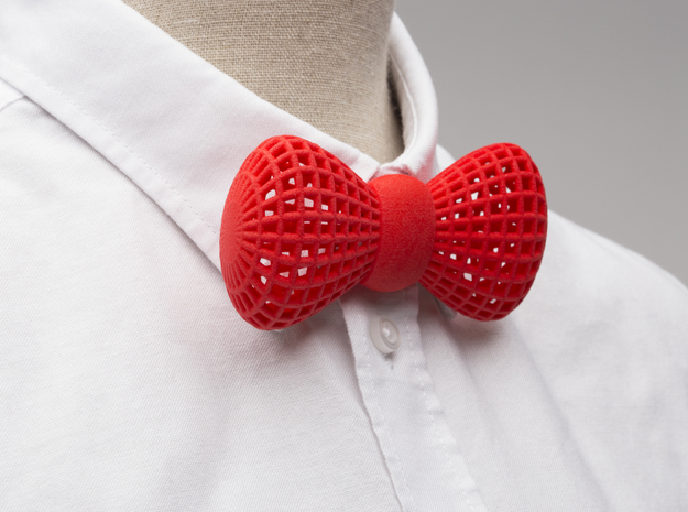 Bowtie  in Red Strong & Flexible Polished