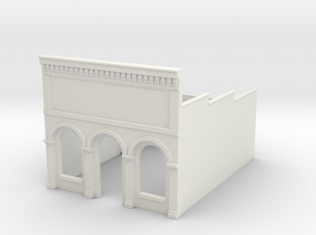 Z-Scale Millie's Cafe Basic Structure