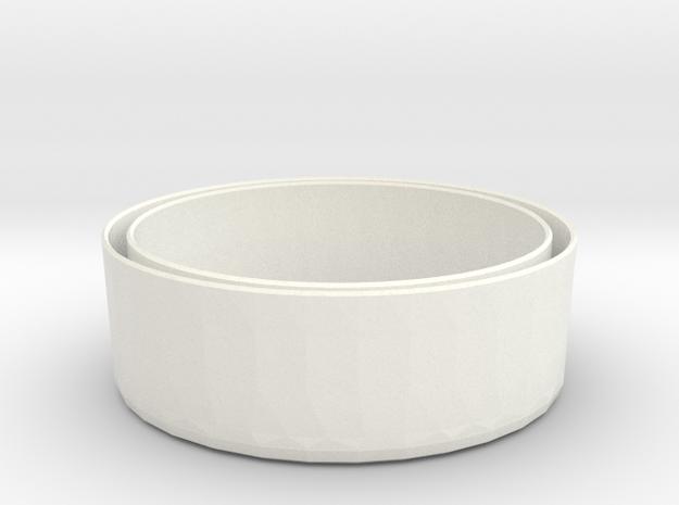 Sleeve-O 13oz PROTOTYPE indoor 6412 V2  in White Processed Versatile Plastic