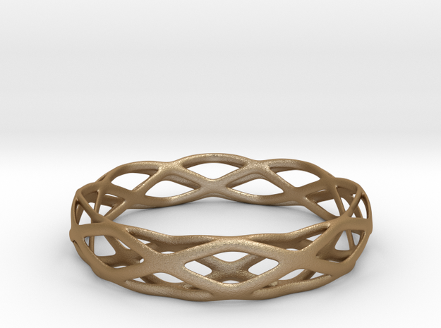 Magic Bracelet in Matte Gold Steel