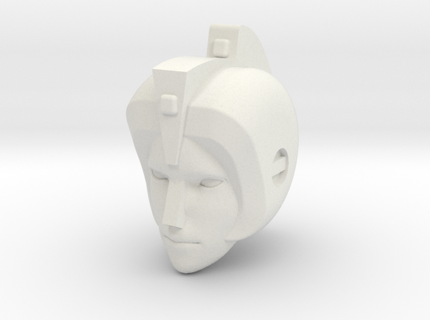 Ariel head for 1st Ed. Prime Arcee in White Strong & Flexible