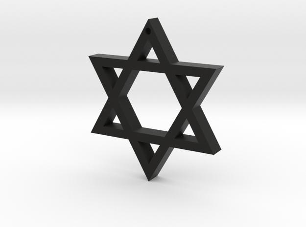 Hexagram in Black Strong & Flexible