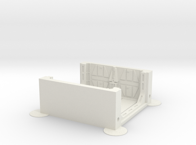 Imperial Assault tile 34A in White Natural Versatile Plastic
