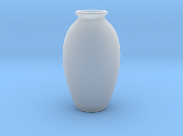 Urn Vase Hollow Form 2017-0009 various scales in Smooth Fine Detail Plastic: 1:24