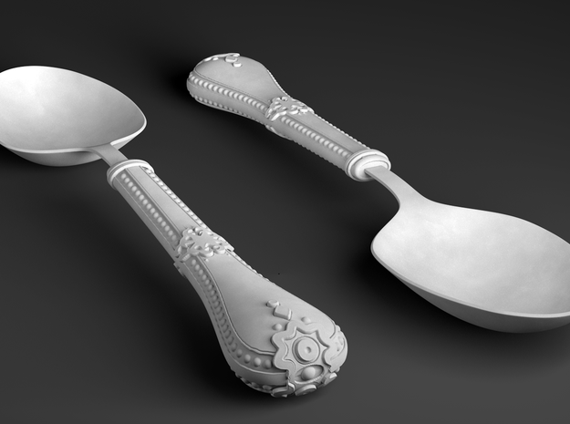 Gothic Spoon 3d printed Gothic Spoon
