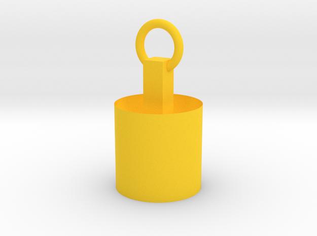 Handsome in Yellow Processed Versatile Plastic