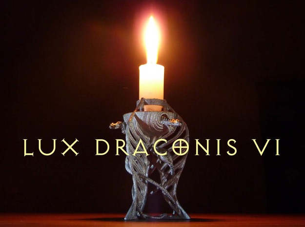 LUX DRACONIS 006 in Polished Bronzed Silver Steel