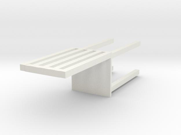椅子.x3d in White Strong & Flexible
