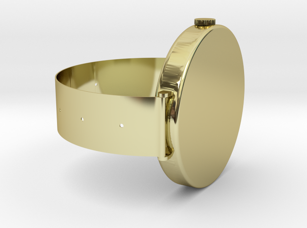 SOL M' Watch in 18k Gold Plated