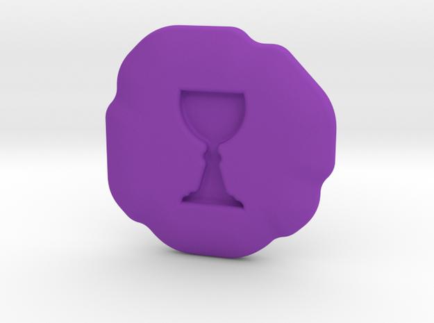 Honor Runestone in Purple Processed Versatile Plastic