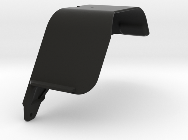 Vaterra Ascender - K10 Front Right Fender 2 of 3 in Black Natural Versatile Plastic