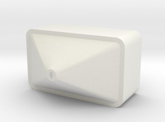 Hopper for salt spreader in White Natural Versatile Plastic