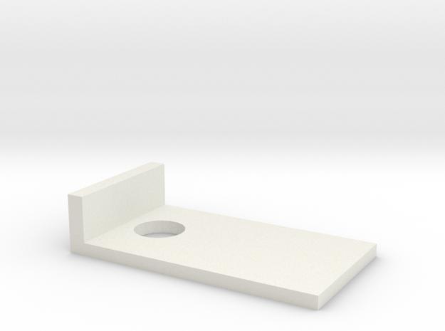 cornhole quarters in White Natural Versatile Plastic