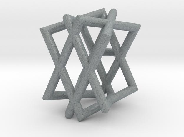 Ketting optische illusie in Polished Metallic Plastic