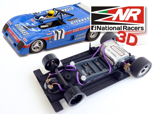 3D chassis for Sloter Lola T280/290 (SW)