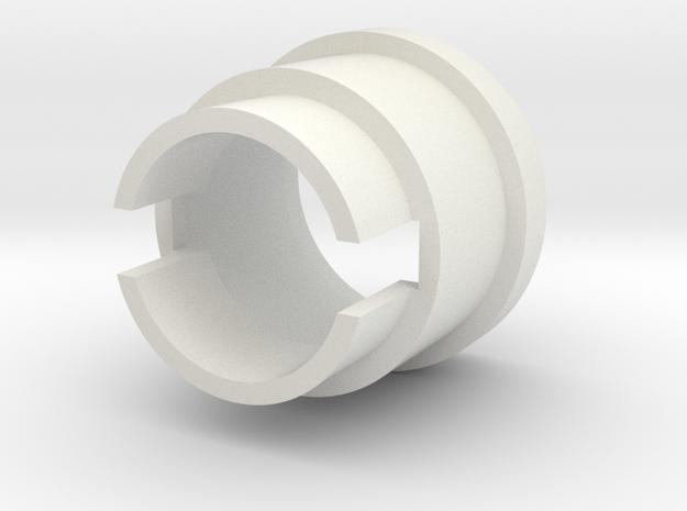Romans Inception V1 28 mm Speaker holder in White Strong & Flexible