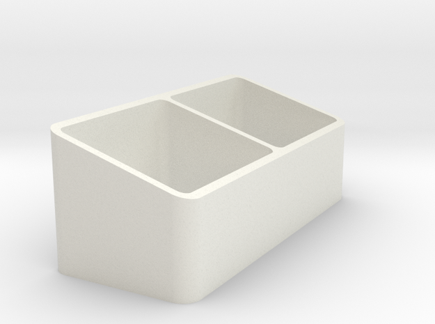 Storage Box in White Strong & Flexible