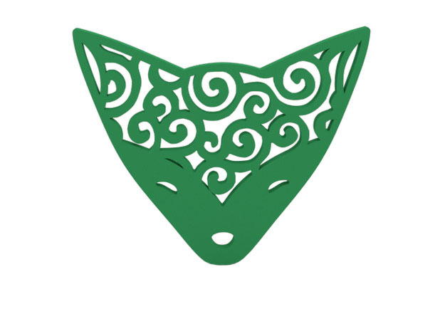 Badge in Green Strong & Flexible Polished
