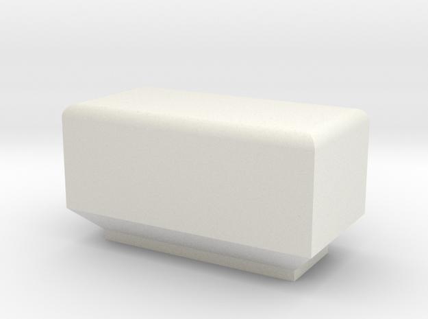 柔光罩.stl in White Strong & Flexible