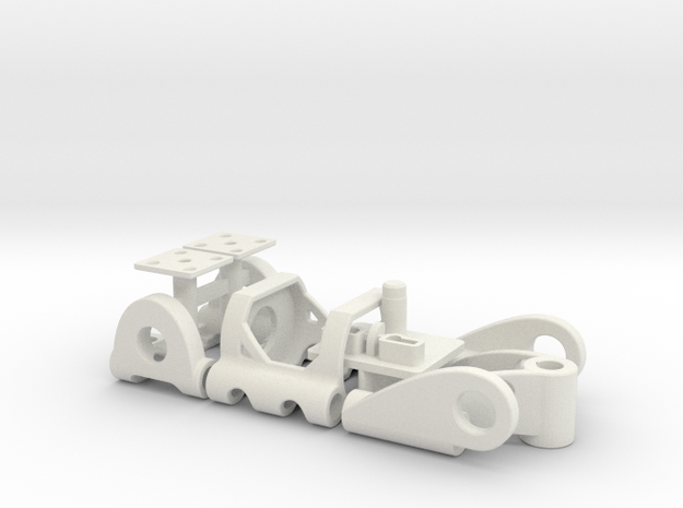 PDU030mL in White Strong & Flexible