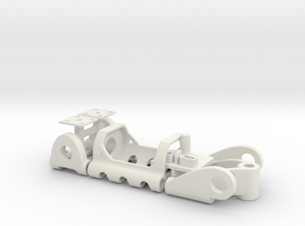 PDU050mL in White Natural Versatile Plastic